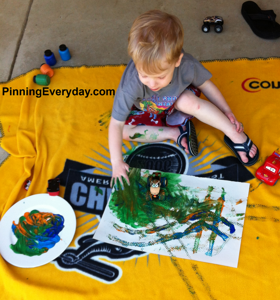 toy truck painting2