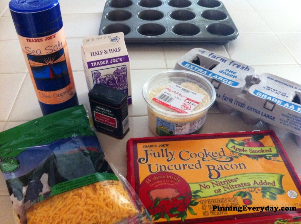 mini frittatas ingredients