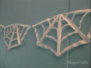 coffee filter web garland