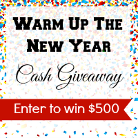 warm up the new year cash giveaway